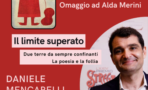 Con Daniele Mencarelli inizia la rassegna omaggio ad Alda Merini