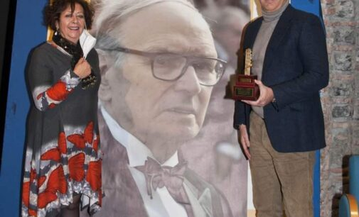 Premio Città di Velletri a Morricone