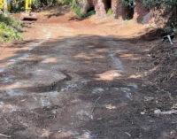 Nemi continuano i lavori di valorizzare del sentiero che dal lago conduce all'Eremo