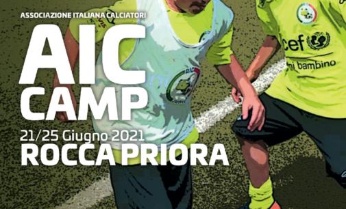 Rocca Priora scelta per il Summer Camp dell'Associazione Italiana Calciatori