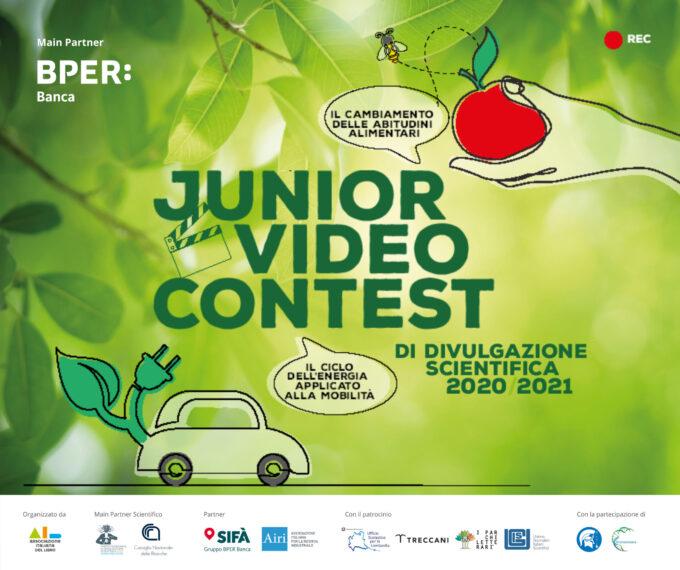 Junior Video Contest scadenza prorogata a fine Aprile!