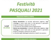 MONTE Compatri – RACCOLTA RIFIUTI: VARIAZIONI DURANTE LE FESTIVITA' PASQUALI