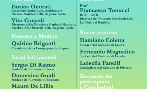 """COMPAGNIA DEI LEPINI – Sabato la presentazione del progetto """"Il Lazio, la Regione dei bambini e delle bambine"""""""