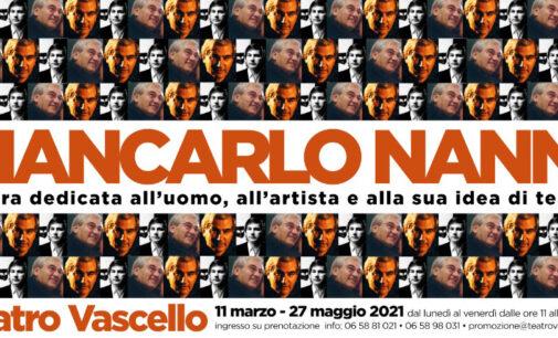 Al teatro Vascello – Giancarlo Nanni mostra dedicata all'uomo, all'artista e alla sua idea di teatro.