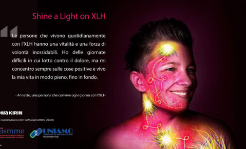 SHINE A LIGHT ON XLH  La campagna social per sensibilizzare sull'Ipofosfatemia legata all'X