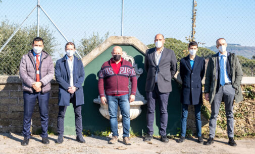 INAUGURATO L'IMPIANTO DI DEGASAZIONE CAMPORESI A SERVIZIO DEL COMUNE DI MARINO