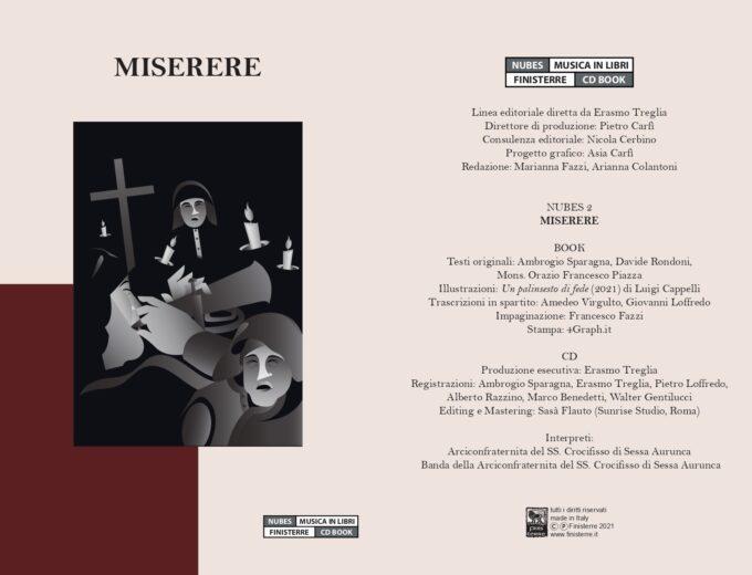 """""""Miserere. I canti penitenziali dell'Arciconfraternita del SS. Crocifisso di Sessa Aurunca"""""""
