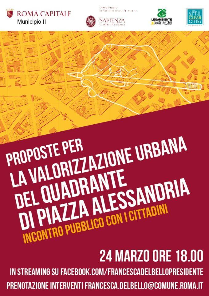 Proposte per la valorizzazione urbana del quadrante di Piazza Alessandria