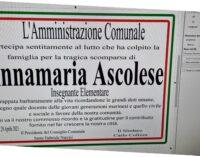 CIAO ANNAMARIA!  La città di Marino saluta la sua maestra