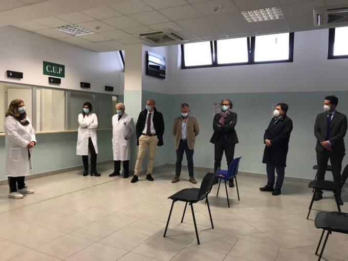 GENZANO – APERTURA AMBULATORIO LONG COVID – POLO OSPEDALIERO DE SANCTIS