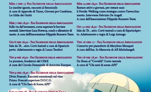 Frascati, continua anche ad aprile la rassegna online delle Associazioni culturali