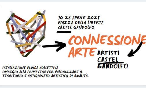 """""""Connessione Arte"""", dal 10 al 26 aprile l'arte fluida arriva a Castel Gandolfo"""