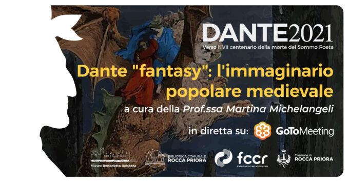"""Rocca Priora  c'è """"Dante fantasy"""""""