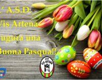 Tanti auguri di buona Pasqua dalla Vis Artena