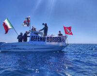CasaPound prende il largo in difesa dei confini tra la Sardegna e l'Algeria