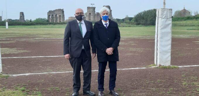 Il Gotha del rugby si è riunito all'ombra degli Acquedotti, al campo dell'Appia rugby
