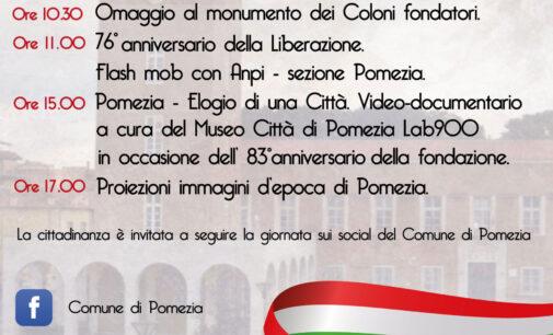 76° Anniversario della Liberazione d'Italia e 83° Anniversario della Fondazione di Pomezia