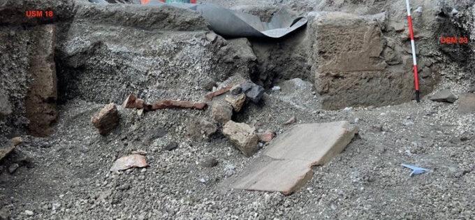 Nota: Pompei, via Plinio – Intervento di archeologia d'emergenza