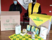 CIAMPINO:  DALLA COLDIRETTI PACCO ALIMENTARE PER FAMIGLIE IN DIFFICOLTÀ