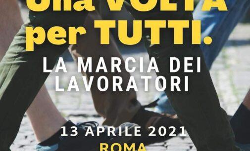 ROMA: UNA VOLTA, PER TUTTI – MARTEDI 13 APRILE ORE 10 MARCIA PACIFICA DEI LAVORATORI – ANCORA UNA VOLTA TUTTI INSIEME IN UNA SOLA VOCE