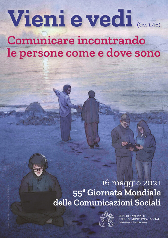 """La Scuola di Arte Sacra di Firenze """"firma"""" il manifesto per l'animazione della 55ª Giornata mondiale delle comunicazioni sociali"""