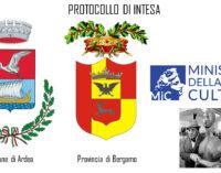 SIGLATO PROTOCOLLO DI INTESA ARDEA-BERGAMO-MINISTERO DELLA CULTURA