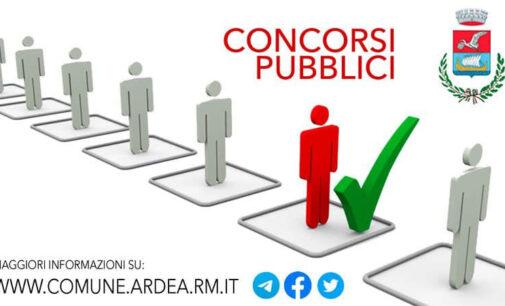 CONCORSI COMUNE DI ARDEA