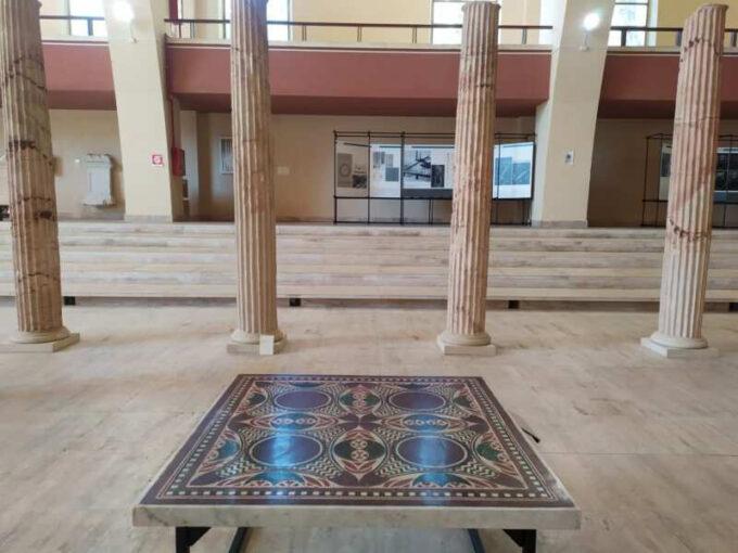 Il Mosaico perduto di Caligola festeggia il suo ritorno a Nemi