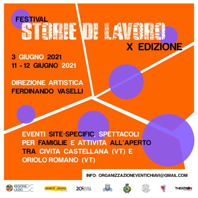 Festival Storie di Lavoro tornerà ad animare la provincia di Viterbo