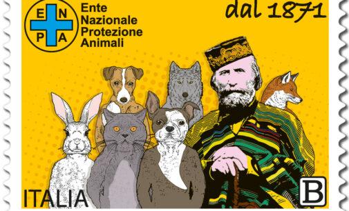 Emissione francobollo Ente Nazionale Protezione Animali
