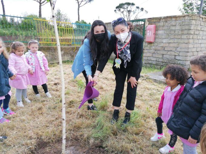 Giornata della Terra, piantati diversi alberi dalle scuole di Valmontone