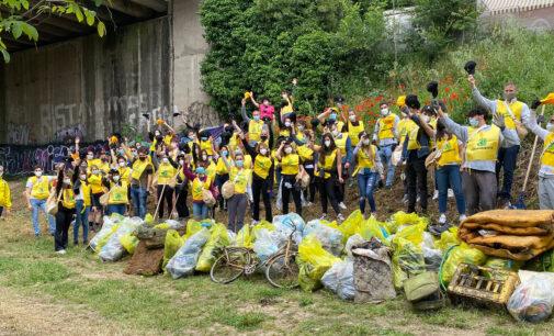 Spiagge e Fondali Puliti, rimossi più di 10 tonnellate di rifiuti nel Lazio
