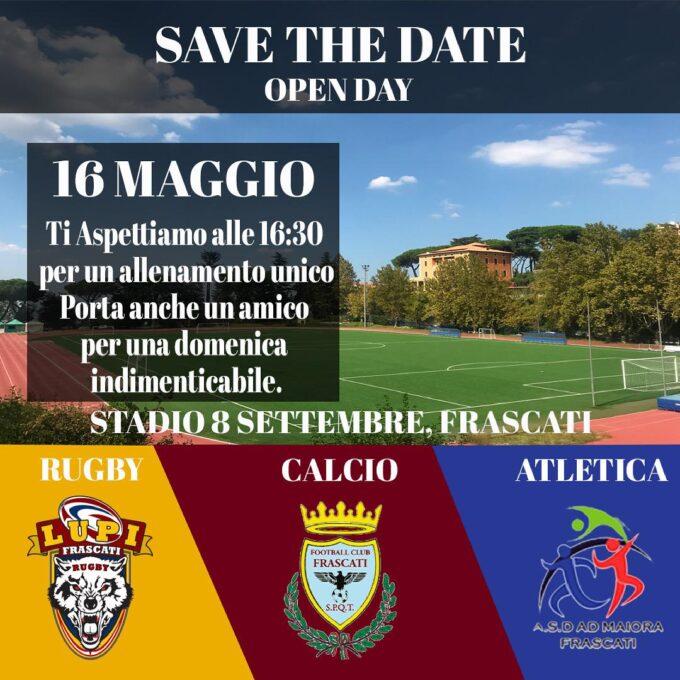 Football Club Frascati, domenica speciale: allenamento condiviso con Lupi Rugby e L'Atletica Ad Maiora