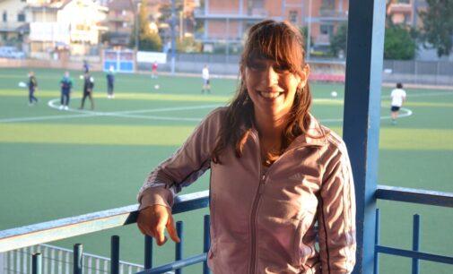 """Asd Casilina, Giulia Trigona tra segreteria e bar: """"Entusiasta per questa mia prima volta nel calcio"""""""