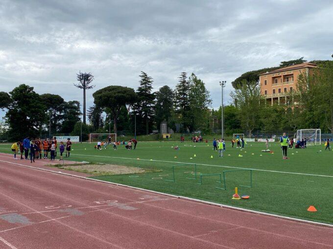 Football Club Frascati, successo per l'allenamento condiviso con Atletica Ad Maiora e Lupi Rugby