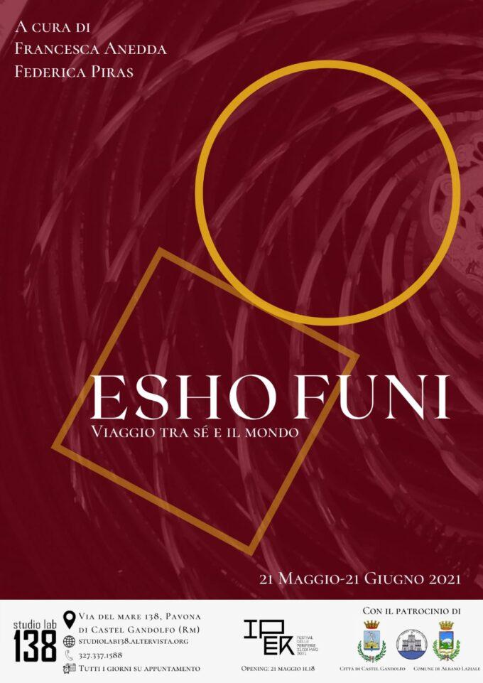 """Dal 21 maggio la mostra """"Esho Funi, viaggio tra sé e il mondo"""""""