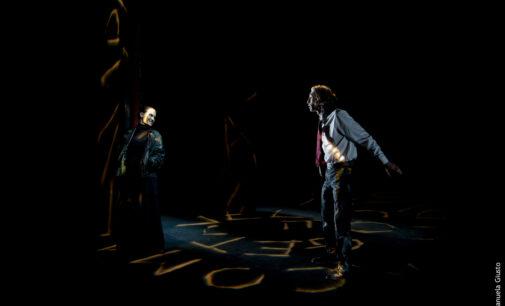 """ERROR MATERIA Studio da """"Le avventure di Pinocchio, storia di un burattino"""" di Carlo Collodi dal 25 al 30 maggio dal martedì al sabato ore 20:30 domenica ore 18"""