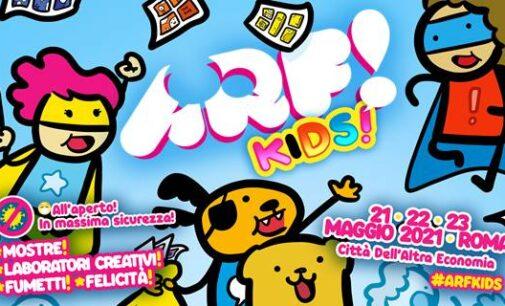 ARF! KIDS Il fumetto a Roma riparte dai bambini. 21, 22 e 23 maggio 2021