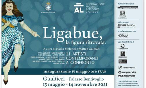 Palazzo Bentivoglio, Gualtieri (RE)   15 maggio – 14 novembre 2021   LIGABUE, LA FIGURA RITROVATA. 11 artisti contemporanei a confronto