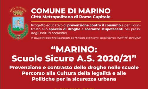 Evento conclusivo del progetto MARINO SCUOLE SICURE 2020/2021