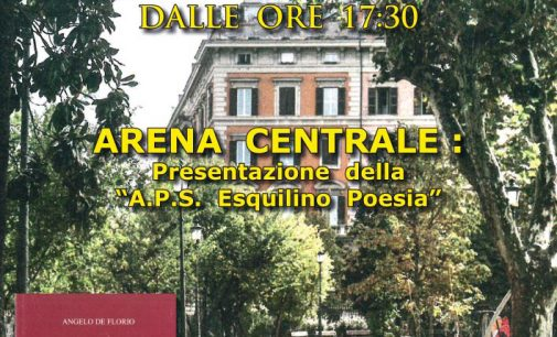 ESQUILINO POESIA -Arena di Piazza Vittorio, Roma