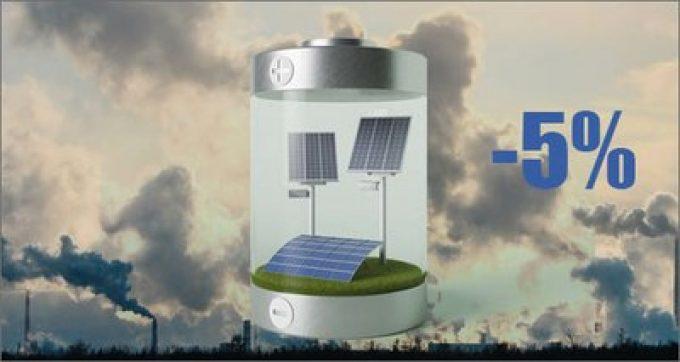 Energia: l'inquinamento atmosferico abbatte la resa degli impianti fotovoltaici