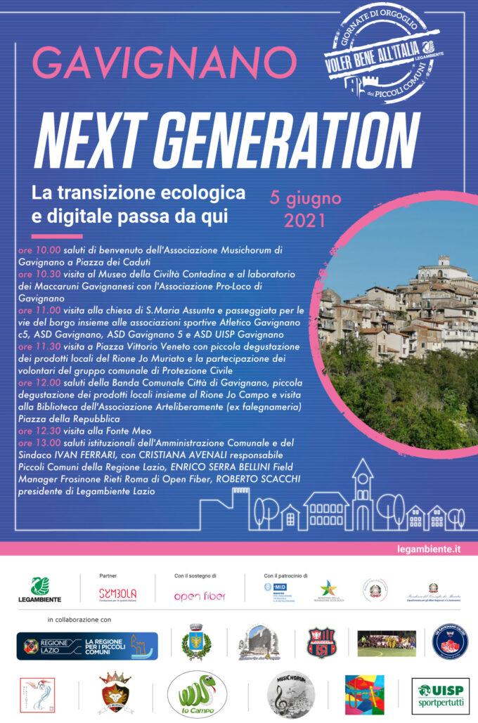 GAVIGNANO 🌻 La transizione ecologica e digitale passa da qui🌱