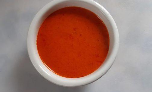 Salse e salsa multicolore
