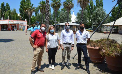 Pomezia – Il Sindaco in visita al parco divertimenti Zoomarine