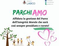 Labico – ParchiAmo anche il Parco dell'integrità morale in gestione a giovani del paese