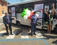 Ciampino – Inaugurato nuovo automezzo del Trasporto Pubblico Locale