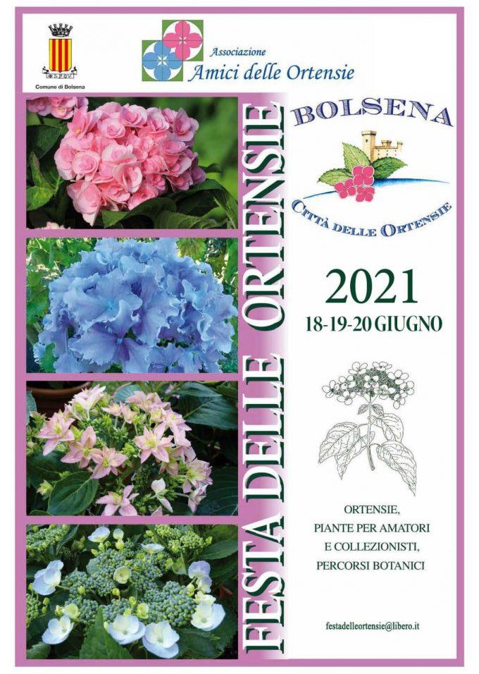 A Bolsena un week end tra profumi e colori  con la Mostra mercato Festa delle Ortensie
