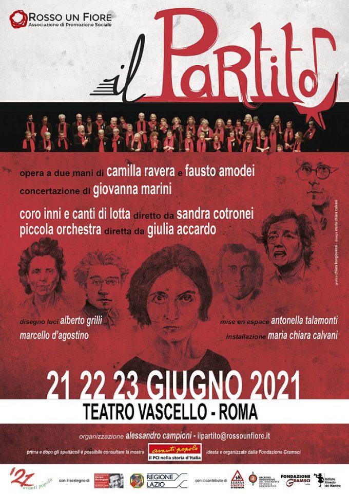 Teatro Vascello – IlPartito – una cantata politica