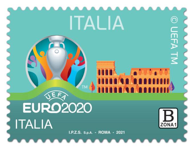 EMISSIONE FRANCOBOLLO UEFA EURO 2020 ITALIA